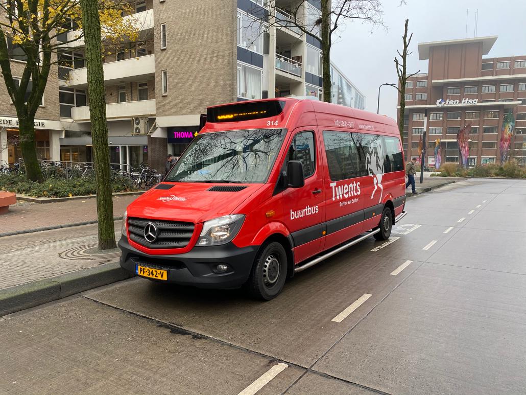 De stoptijden bij de halte MST/Van Heekplein zijn veranderd.
